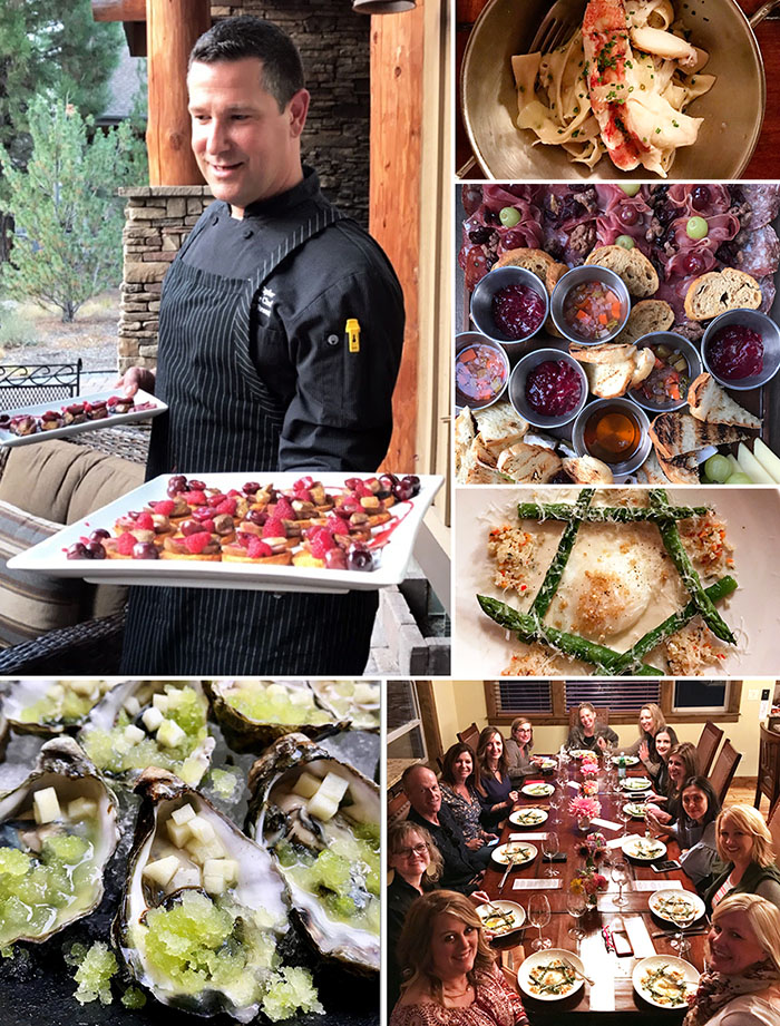 Sunriver Resort in Central Oregon should be on your travel bucket list! Be prepared to fall in love! Chef Travis with Sunriver Resort came to the house and prepared a phenomenal five-course meal for us one night. Details at TidyMom.net