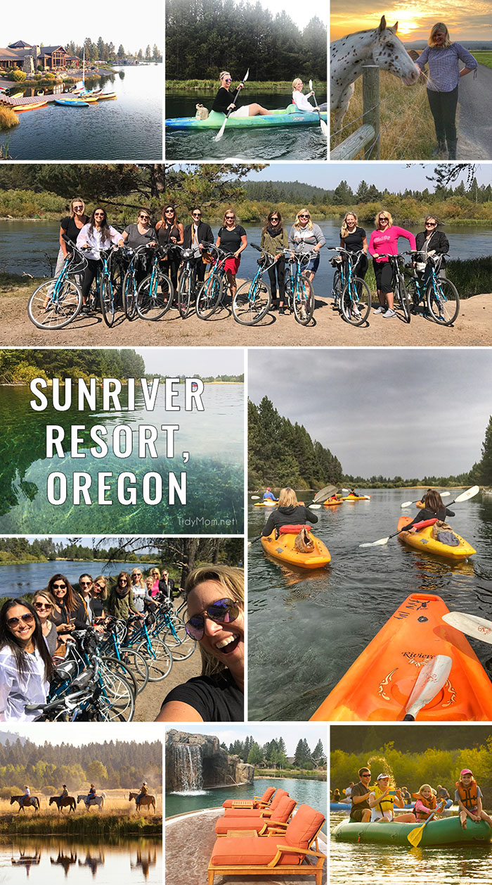 Sunriver Resort in Central Oregon should be on your travel bucket list! It's the ideal location for family vacations, retreats or corporate events with unlimited recreational activities like biking, kayaking, world-class golf, skiing, rafting and more! Be prepared to fall in love! Details at TidyMom.net