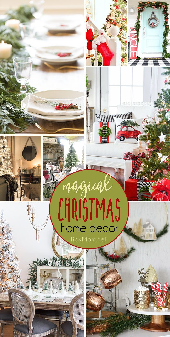 Magical Christmas Home Decor Inspiration