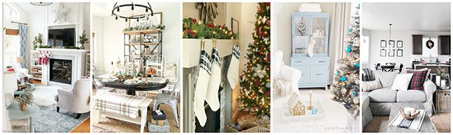Seasonal Simplicity Christmas Home Tour Day 1