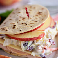 Turkey Apple & Cheddar Sandwich