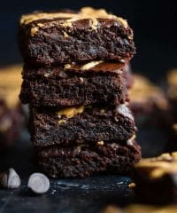 Death By Chocolate feature: brownies image via: FoodFaithFitness.com
