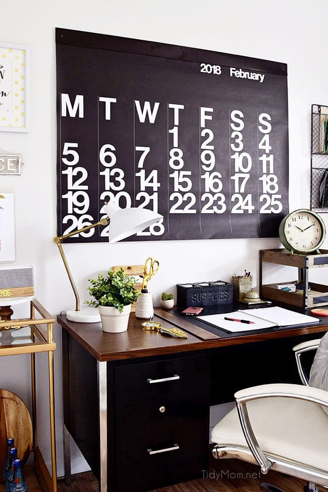 Decorating A Shared Home Office, With Colorful Industrial Style. Her Side  Is Pink And