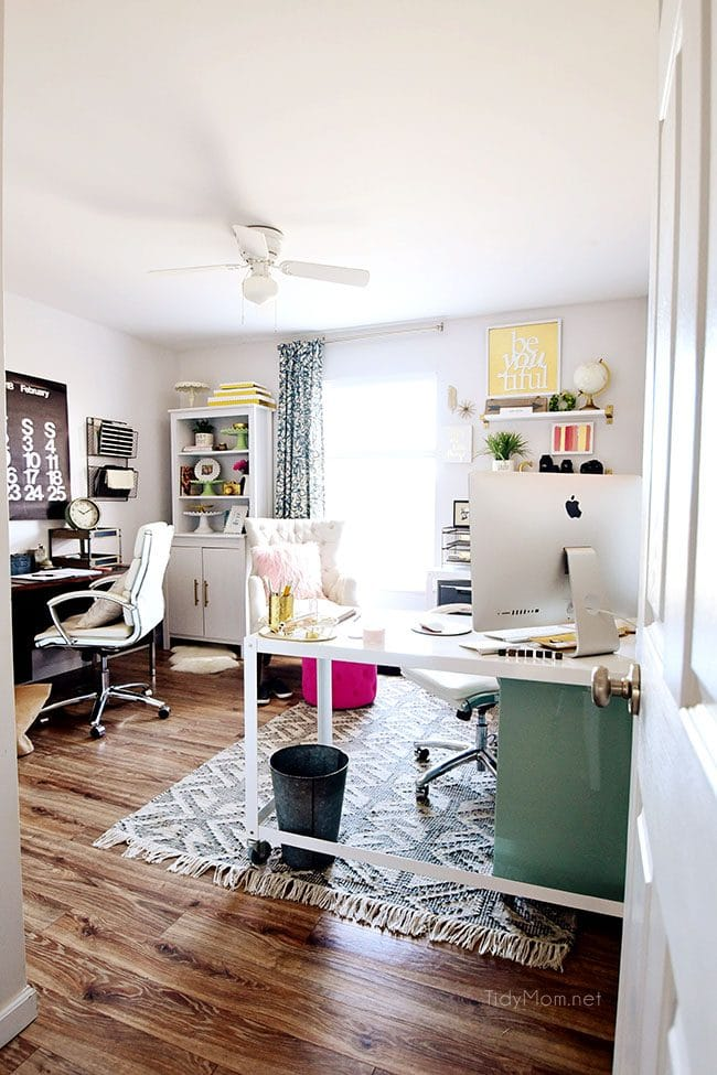 Decorating A Shared Home Office Tidymom 174