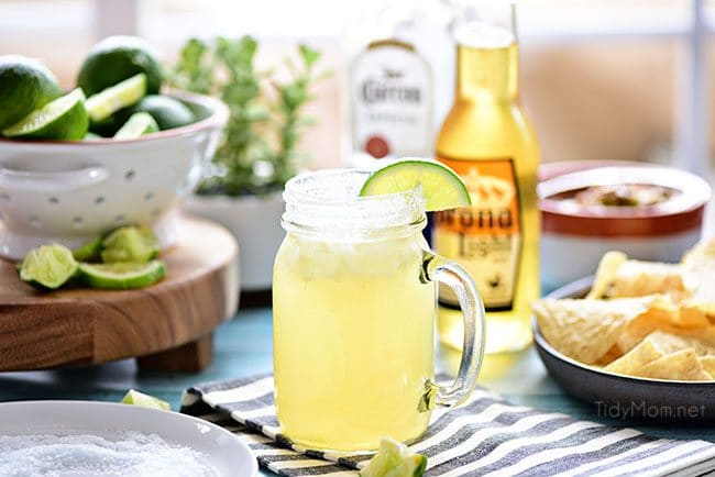 This easy recipe for a Beer Margarita has only 3 ingredients and is dripping with Mexican flavors.