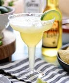 This easy recipe for a Beer Margarita has only 3 ingredients and is dripping with Mexican flavors. The best Beergarita is light, not too sweet, refreshing and super easy, to make! When you combine tequila, beer, and frozen limeade, you have something for the cocktail lover and brewski lover. Perfect for Cinco de Mayo or any celebration! Get this #cocktailrecipe at TidyMom.net #margarita #cocktails
