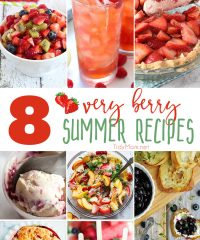 It's berry season at the farmers market. If you're anything like me, you end up leaving with way too many berries and not enough berry recipes. This week I have all your problems solved with very berry summer recipes perfect for any occasion.