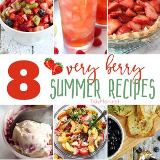 It's berryseason at the farmers market. If you're anything like me, you end up leaving with way too many berries and not enough berry recipes. This week I have all your problems solved with very berry summer recipes perfect for any occasion.