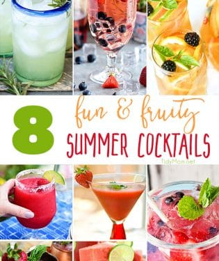 8 fun and fruity summer cocktails