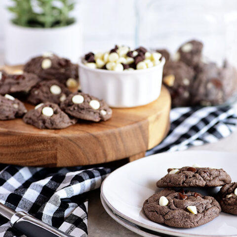 Cookies & Cream Oreo Pudding Cookies
