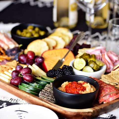 Easy Meat and Cheese Board