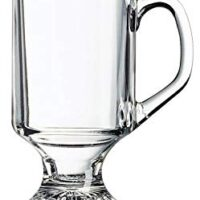 Irish Footed Mug, 10-Ounce, Set of 4