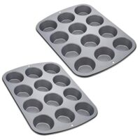 Nonstick 12-Cup Regular Muffin Pan (2)