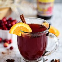 Cranberry Mulled Ale