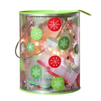 Christmas Gift Box Bucket