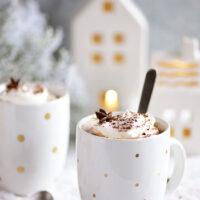 Butterscotch Schnapps Spiked Hot Chocolate