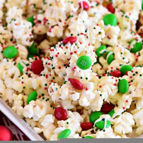 Santa Munch Christmas Popcorn Treat