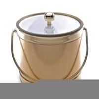 Mr. Ice Bucket 559-1 Brushed Gold Ice Bucket, 3-Quart