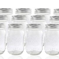 1 pint Ball Mason Jar with Lid