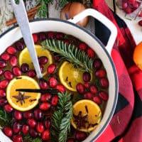 Simmering Christmas Potpourri