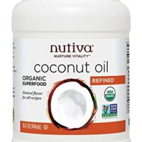 Nutiva Organic,Steam Refined Coconut Oil