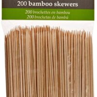 Fox Run Brands Bamboo Skewers, 4-inch (set of 200)