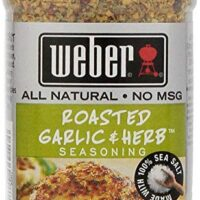 Weber Seasoning, Roasted Garlic and Herb, 7.75 Ounce