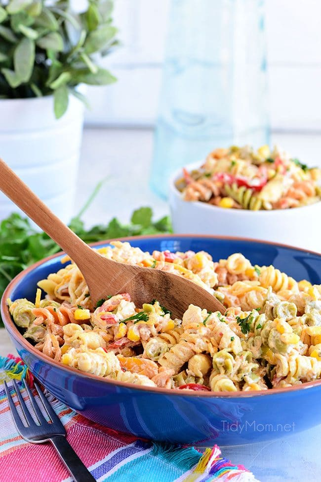 Quick and Easy Taco Pasta Salad