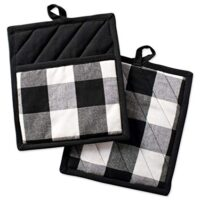 Buffalo Check Plaid Pot Holders