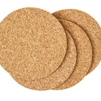 Thin Cork Coasters