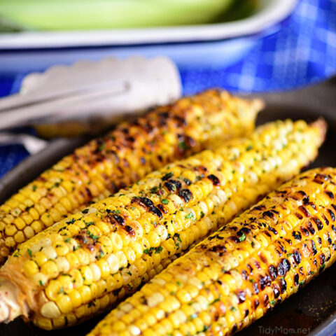 3 ears of Chili Lime Corn On The Cob