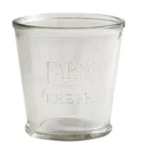 Farm Fresh Clear Tumbler