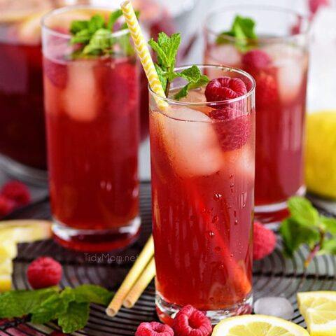 Red Raspberry Iced Tea