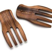 Wood Salad Hands
