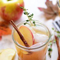 Easy Bourbon Apple Cider Cocktail