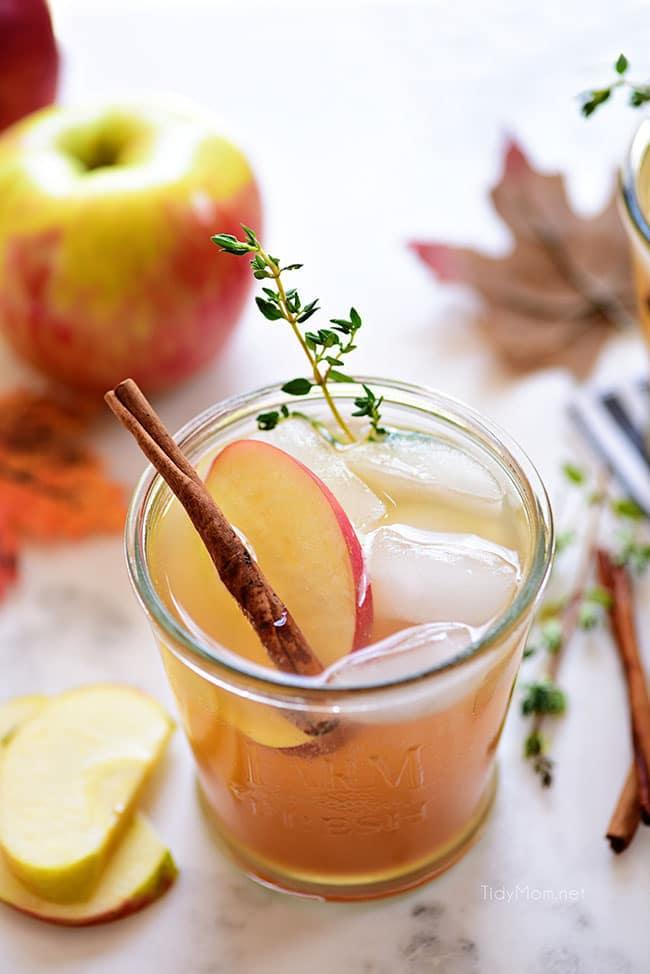 Easy Bourbon Apple Cider Cocktail Tidymom