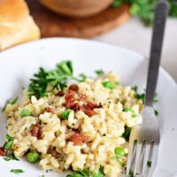 Easy Baked Parmesan Risotto Recipe