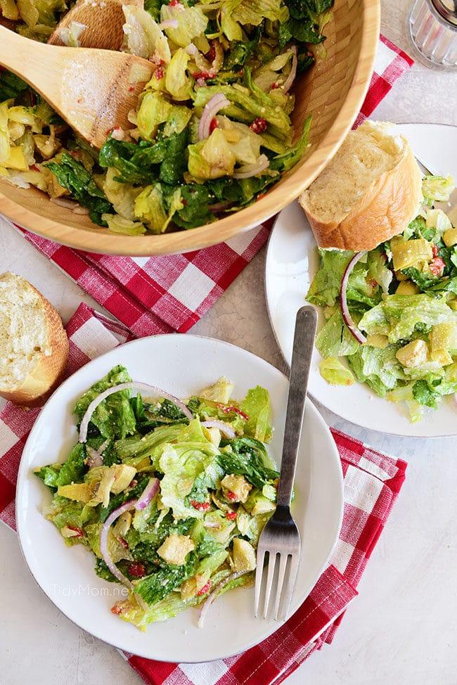 restaurant style Italian Salad