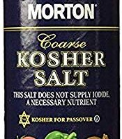 Morton Coarse Kosher Salt 16 oz. (1)