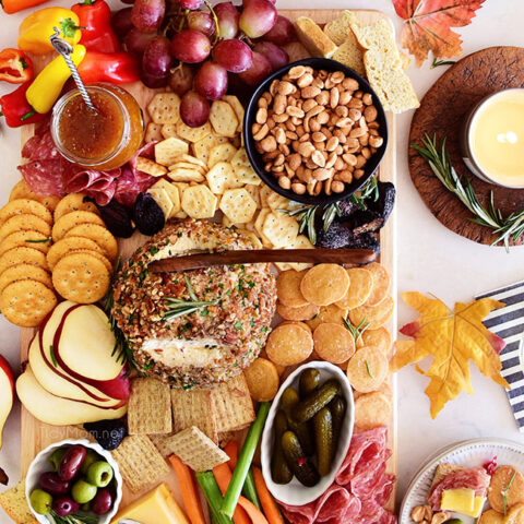 The Perfect Fall Charcuterie Board