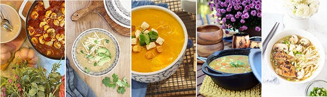 5 fall soups to enjoy
