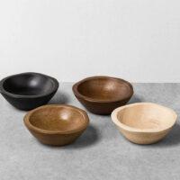 Wood Salt Bowl