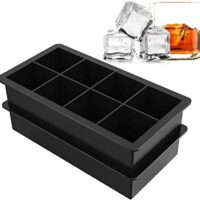 Silicone Large Square Ice Cube Molds
