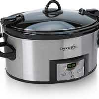 Crock-Pot 6-Quart Cook & Carry Programmable Slow Cooker with Digital Timer