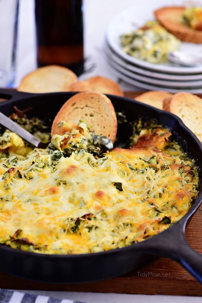 Spinach Dip for a party