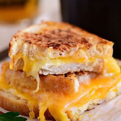 The Best Grilled Cheese Sandwich