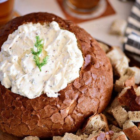Rye Bread Bowl Dip