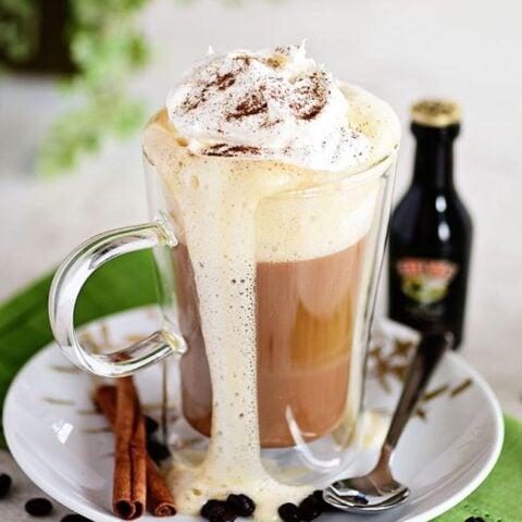 Bailey's Irish Coffee Cocktail