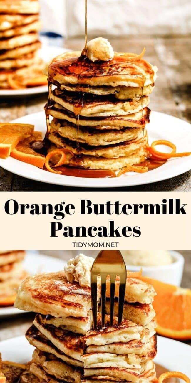 pancakes photo collage