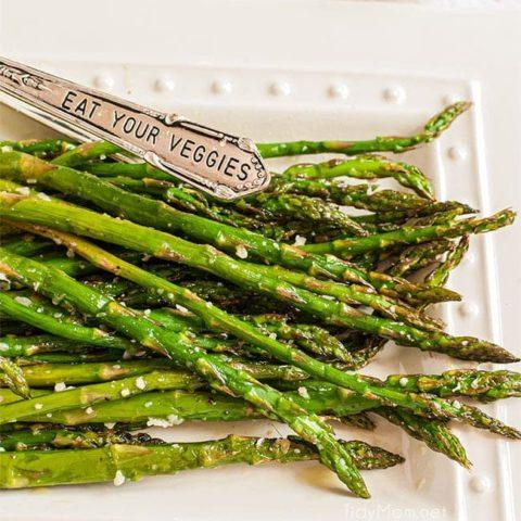 Oven Roasted Parmesan Asparagus